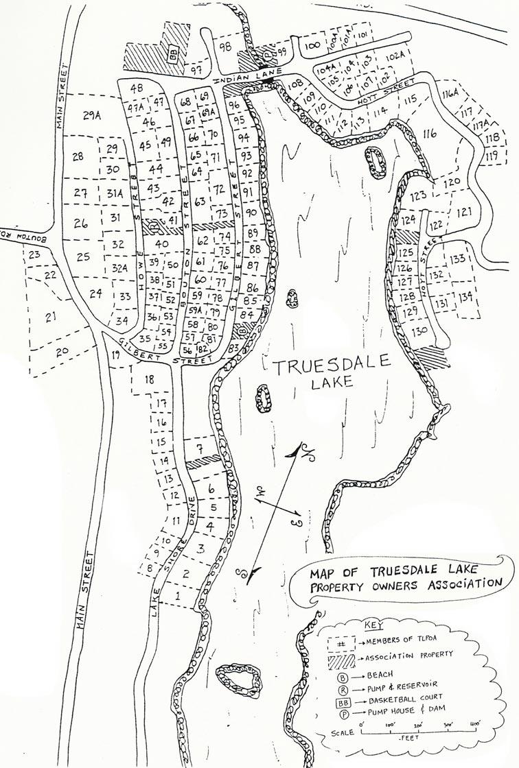 TLPOA Properties Map
